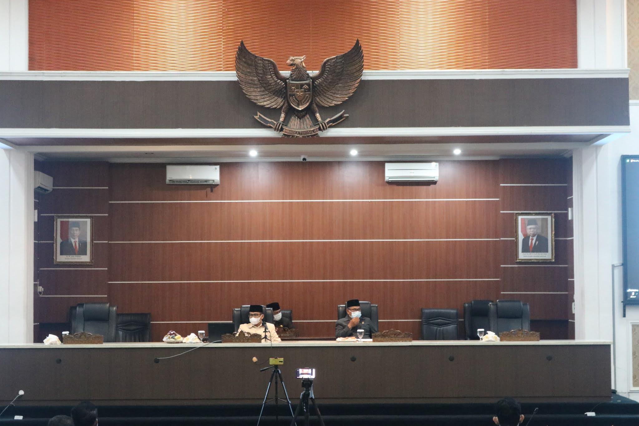 Bupati dan DPRD Setujui RKUA – RPPAS Tahun 2021