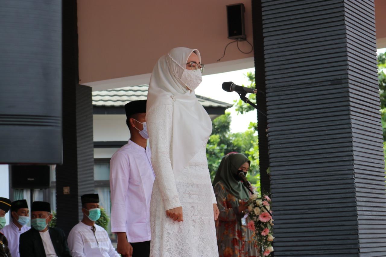 Pimpinan DPRD Purwakarta Hadiri Upacara Peringatan Hari Santri Nasional