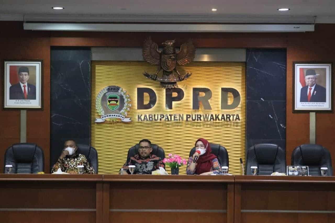 Rapat Badan Anggaran DPRD Purwakarta Tertunda Gegara Data dari Bapenda Belum Siap