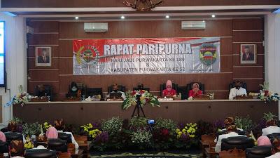 Paripurna DPRD  Hari Jadi  Purwakarta Ke-189 dan Kabupaten Purwakarta Ke-52