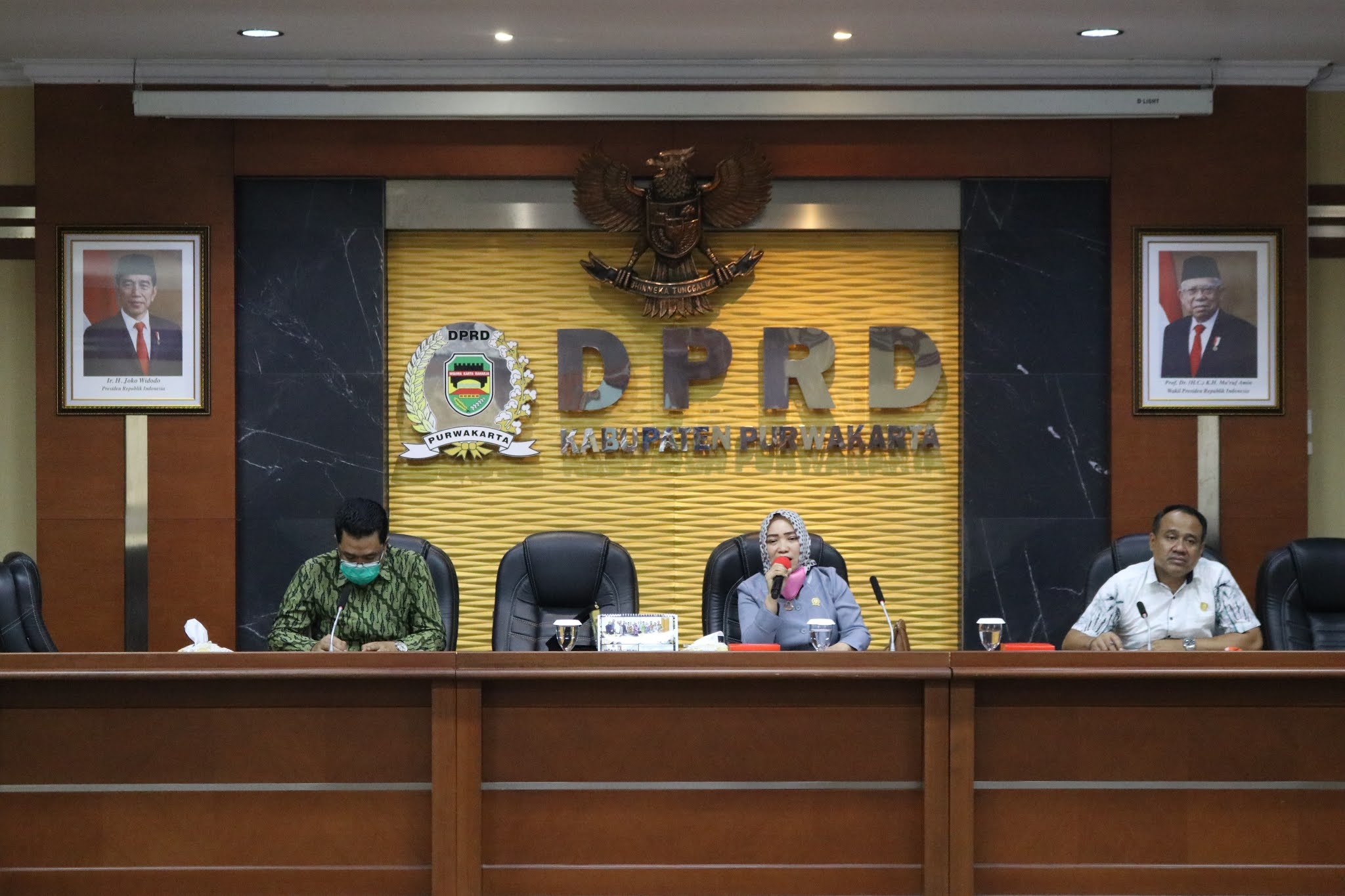 Sri Puji Utami dan Warseno Terima Kunjungan  Kerja DPRD Madiun dan Purworejo