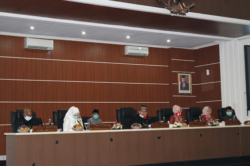 Paripurna DPRD Purwakarta Tentang  Raperda RAPBD Perubahan TA 2020