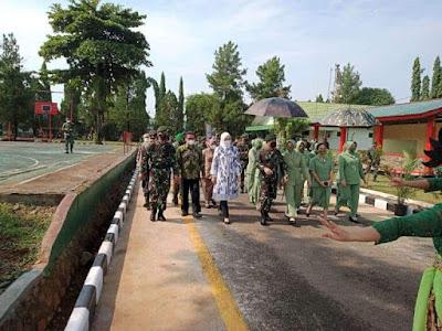 Ketua DPRD Purwakarta Hadiri Kunjungan Kerja Pangkotrad Letjen TNI Dudung Abdurachman