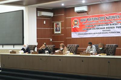 DPRD Purwakarta Bentuk Pansus Empat Raperda