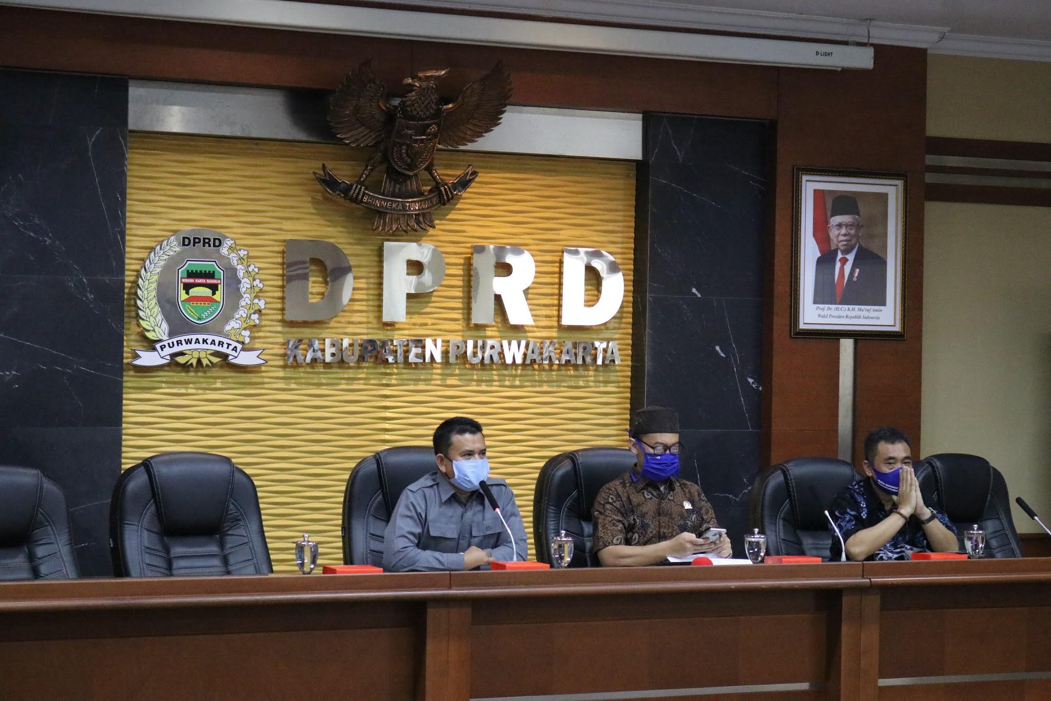 DPRD Purwakarta Terima Kunker Pansus DPRD Karawang