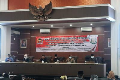 DPRD Dan Kejaksaan Negeri Purwakarta Melakukan MOU Penanganan 'Datun'