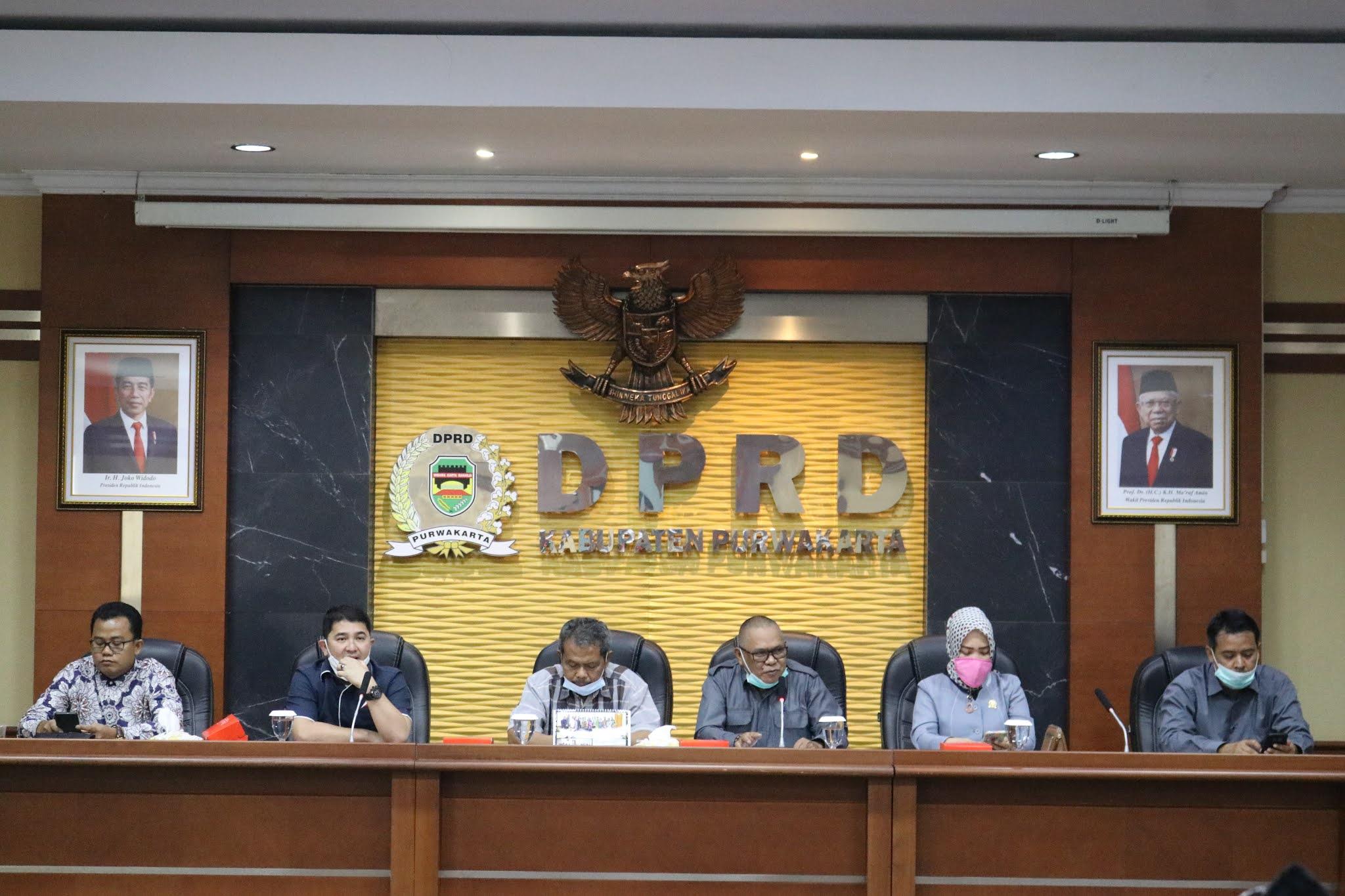 DPRD Purwakarta Terima Kunjungan  Dua Pansus DPRD Karawang