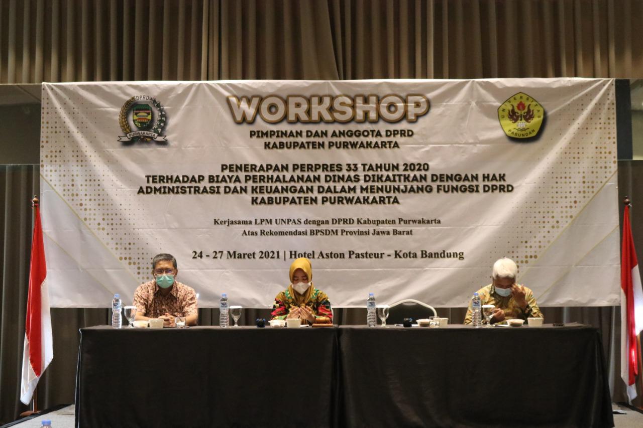 Bimtek Atau Workshop Sebagai Pendalaman Tugas DPRD